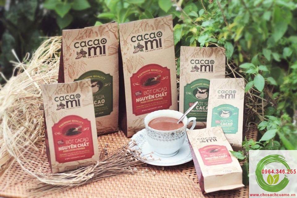 quy trình chế biến bột cacao